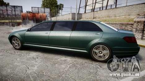 Benefactor Schafter Limousine pour GTA 4 est une gauche
