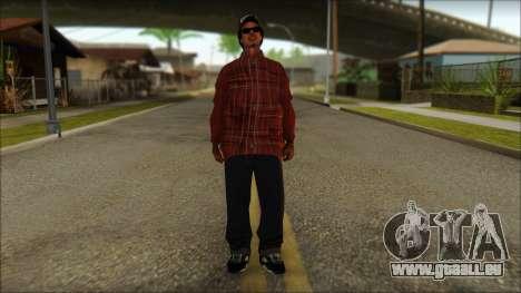 Eazy-E Red Skin v2 pour GTA San Andreas