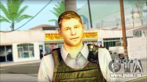 Ein Polizist aus TC SC: Conviction für GTA San Andreas dritten Screenshot