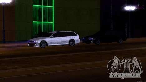 BMW 530d für GTA San Andreas Innenansicht