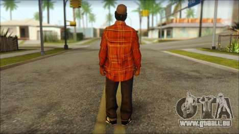 Eazy-E Red Skin v2 für GTA San Andreas zweiten Screenshot