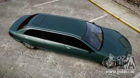 Benefactor Schafter Limousine für GTA 4 rechte Ansicht