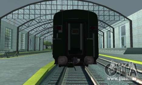 Garib Rath Express pour GTA San Andreas vue intérieure