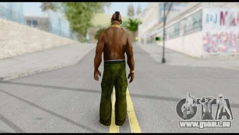 MR T Skin v3 pour GTA San Andreas deuxième écran