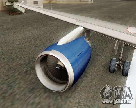 Airbus A320-232 British Airways pour GTA San Andreas moteur