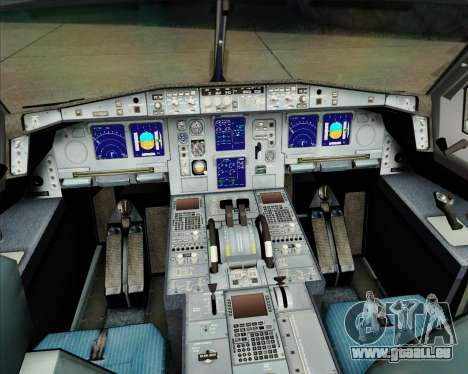 Airbus A340-311 House Colors pour GTA San Andreas salon