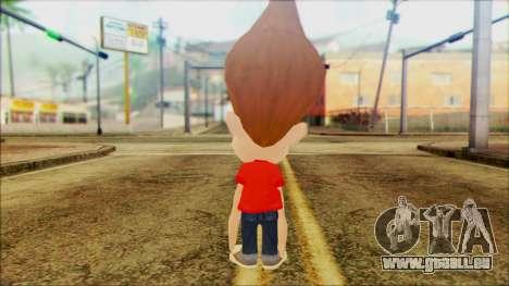 Jimmy Neutron pour GTA San Andreas deuxième écran