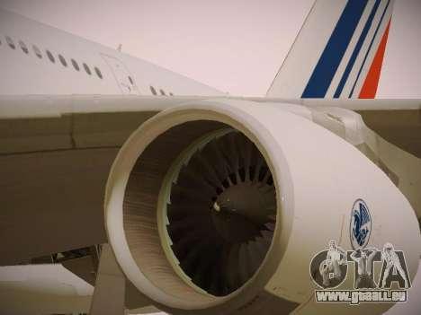 Airbus A380-800 Air France pour GTA San Andreas moteur