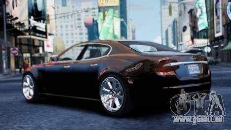 GTA 5 Lampadati Felon für GTA 4 linke Ansicht