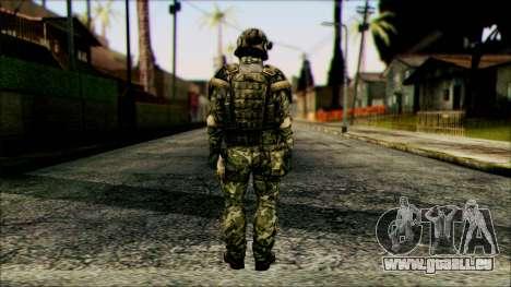 Fighter (PLA) v6 pour GTA San Andreas deuxième écran
