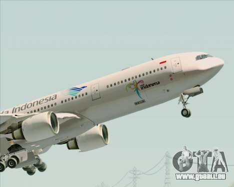 Airbus A330-300 Garuda Indonesia für GTA San Andreas Motor