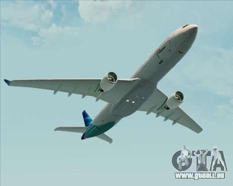 Airbus A330-300 Garuda Indonesia für GTA San Andreas Innen