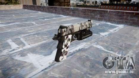 Pistolet Kimber 1911 Diamant pour GTA 4 secondes d'écran