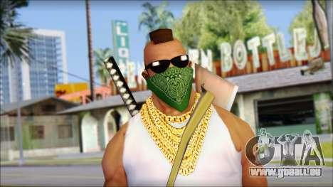 MR T Skin v12 pour GTA San Andreas troisième écran
