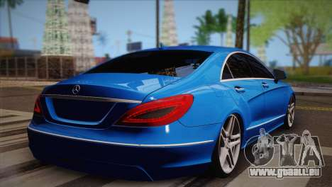 Mercedes-Benz CLS63 AMG für GTA San Andreas linke Ansicht