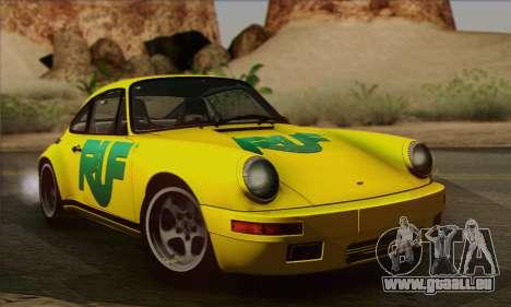 RUF CTR Yellowbird 1987 pour GTA San Andreas vue de côté