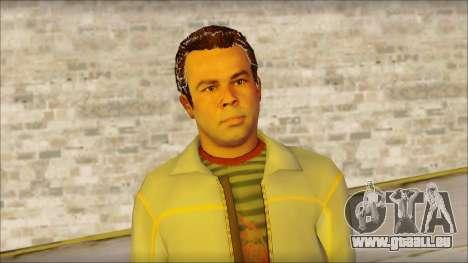 GTA 5 Ped 7 pour GTA San Andreas troisième écran