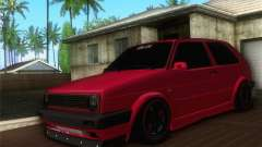 Volkswagen Golf Mk2 Low Life pour GTA San Andreas