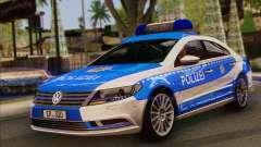 Volkswagen Passat CC Polizei 2013 v1.0 für GTA San Andreas