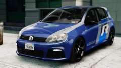 Volkswagen Golf R 2010 ABT Paintjob pour GTA 4