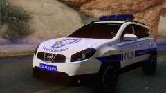 Nissan Qashqai TR POLICE