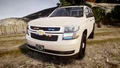 Chevrolet Tahoe 2015 PPV Slicktop [ELS] für GTA 4