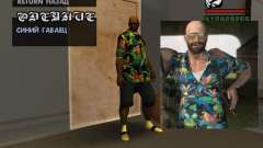 Chemise hawaïenne comme max Payne