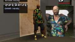 Chemise hawaïenne comme max Payne