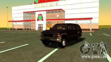 GMC Yukon XL ФСБ für GTA San Andreas