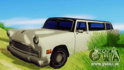 Cabbie Limousine pour GTA San Andreas
