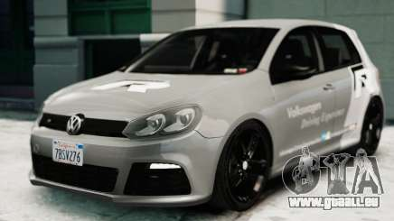 Volkswagen Golf R 2010 Driving Experience pour GTA 4