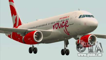 Airbus A319 Air Canada Rouge pour GTA San Andreas