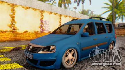 Dacia Logan MCV für GTA San Andreas