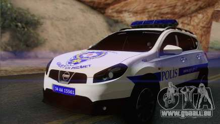 Nissan Qashqai TR POLIZEI für GTA San Andreas