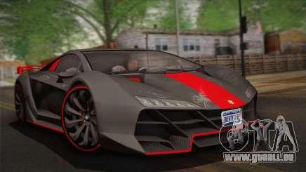 GTA 5 Zentorno (IVF) pour GTA San Andreas