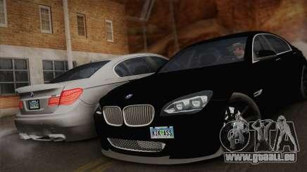 BMW F01 750Li 2009 pour GTA San Andreas