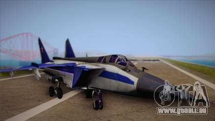 MIG-31 from H.A.W.X. pour GTA San Andreas