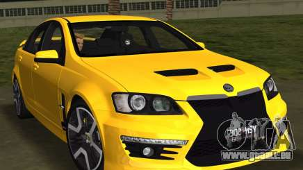 Holden HSV GTS 2011 für GTA Vice City