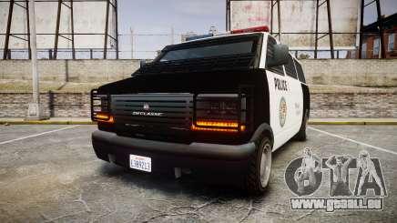 Declasse Burrito Police Transporter LED [ELS] pour GTA 4
