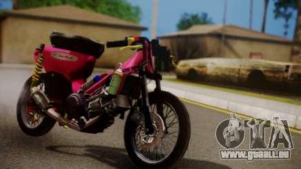 Super Cub Drag pour GTA San Andreas
