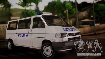 Volkswagen Caravelle Politia für GTA San Andreas