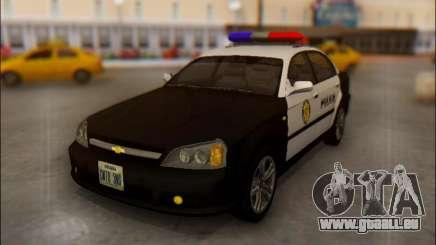 Chevrolet Evanda Police für GTA San Andreas