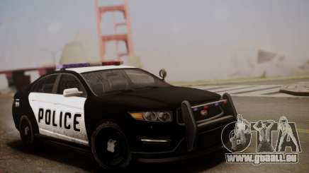 Vapid Police Interceptor from GTA V pour GTA San Andreas