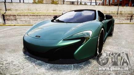 McLaren 650S Spider 2014 [EPM] Yokohama ADVAN v1 pour GTA 4