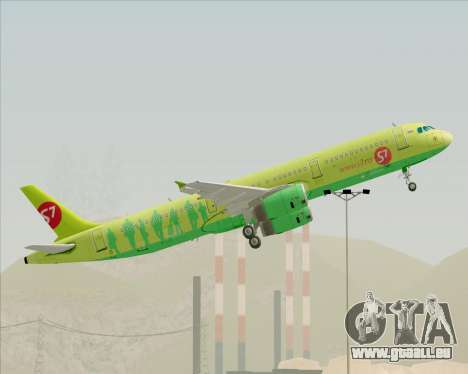 Airbus A321-200 S7 - Siberia Airlines pour GTA San Andreas