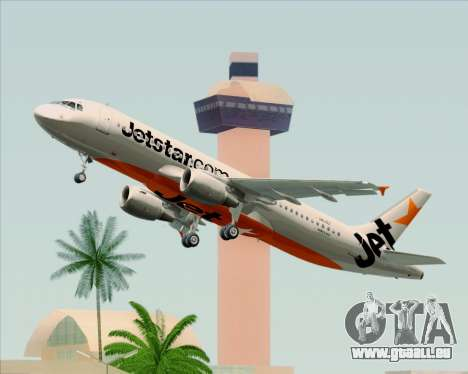 Airbus A320-200 Jetstar Airways pour GTA San Andreas