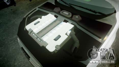 Audi A8 Limousine für GTA 4 Seitenansicht