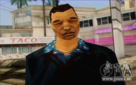 Yakuza from GTA Vice City Skin 2 pour GTA San Andreas troisième écran