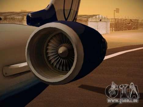 Bombardier CRJ-700 United Express pour GTA San Andreas salon