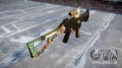 Pistolet UMP45 Ronin pour GTA 4 secondes d'écran